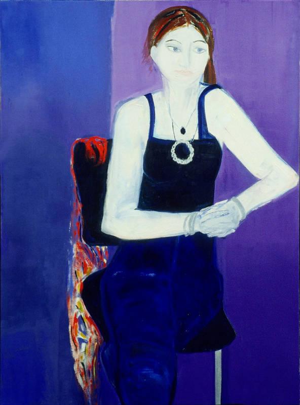 Anka IV | Oil on Canvas