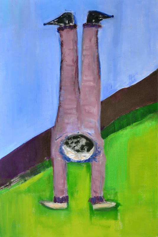 Gay Companion | Oil on Canvas