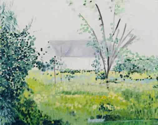 Meadow in the Spring | Oil on Canvas
