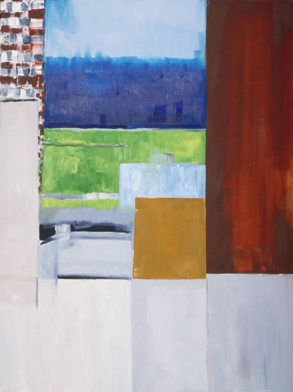 Setting Sun | Oil on Canvas
