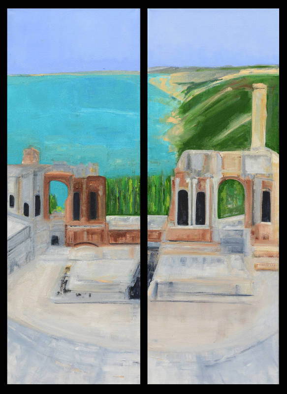 Theatre at Taormina I | Oil on Canvas