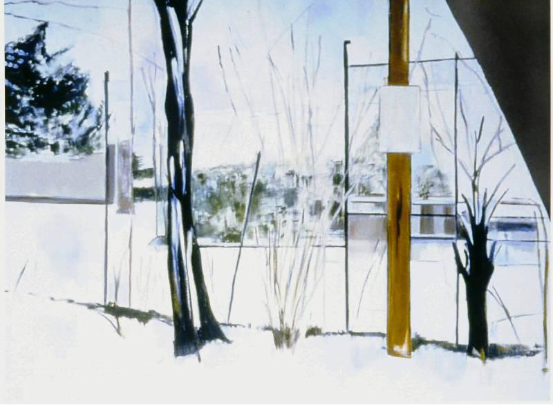 Winter Night | Oil on Canvas