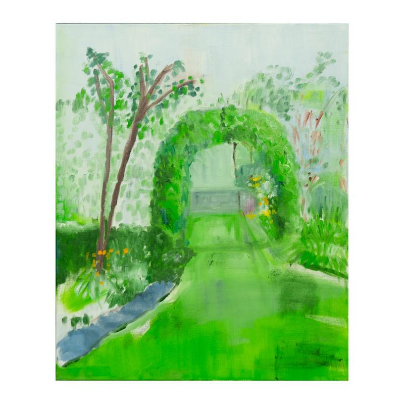 Garden Arc | Oil on Canvas