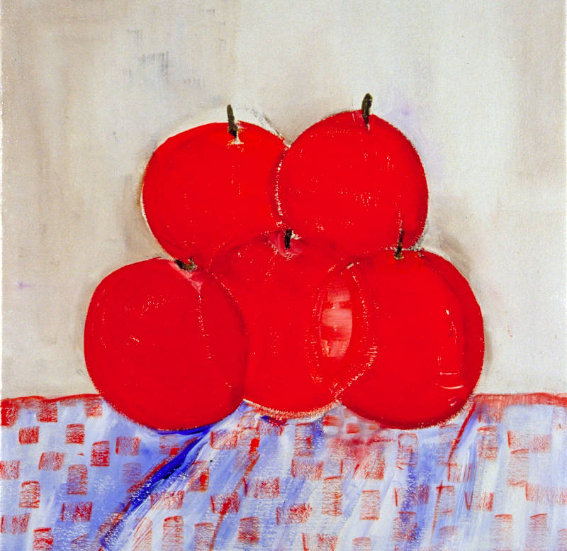 Apples on a Table | Oil on Canvas