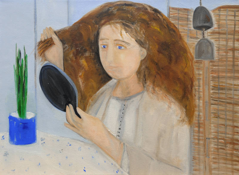 Belle Irlandaise | Oil on Canvas