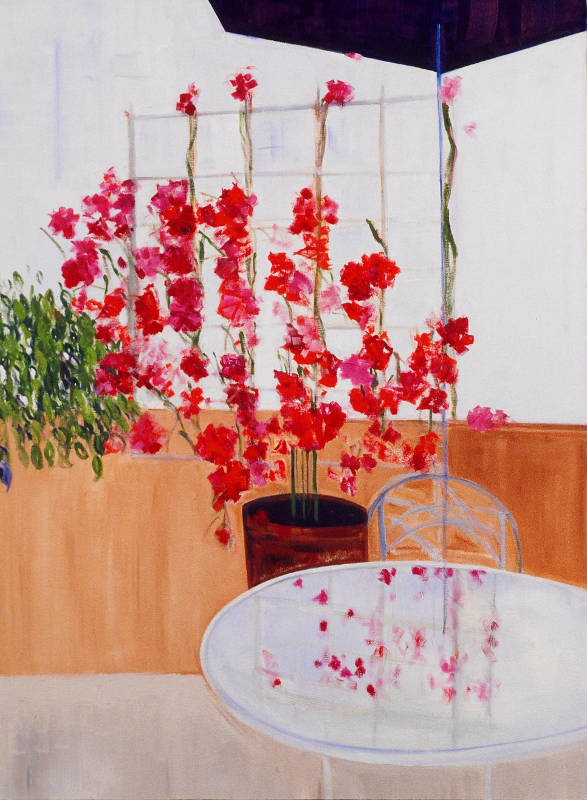 Bougainvillea | Oil on Canvas